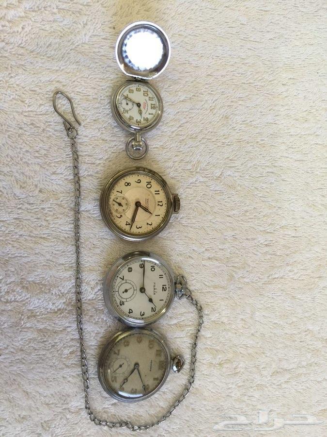 93d72a16b ساعات جيب وساعات صليب قديمة
