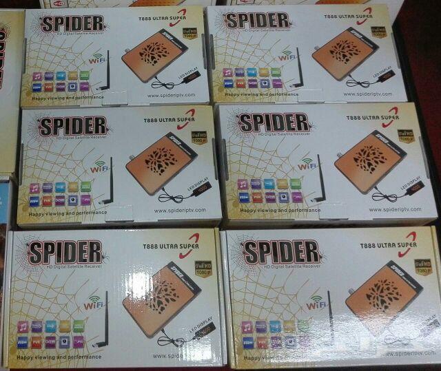Spider Receiver T888