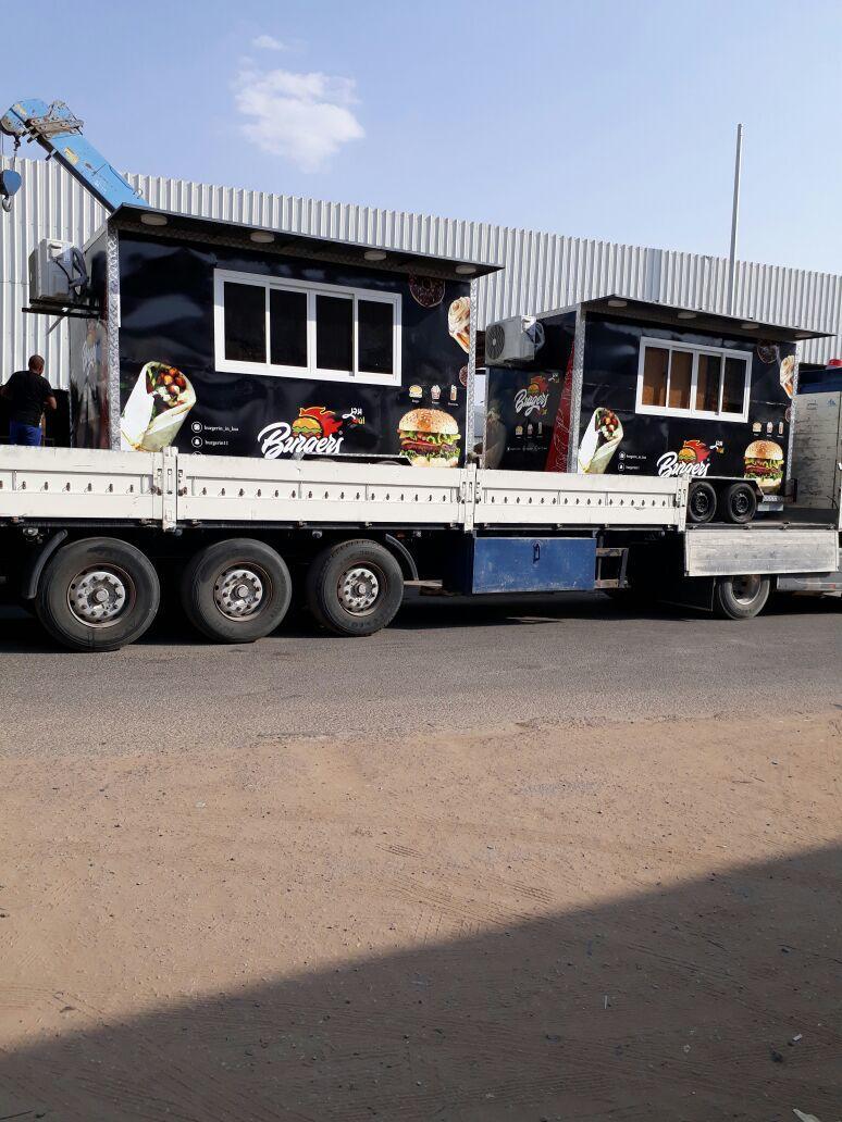 تصنيع عربات الطعام الفود ترك