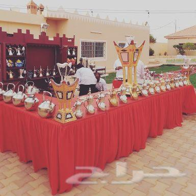 ابو ريان لتجهيز القهوة والشاي في المناسبات