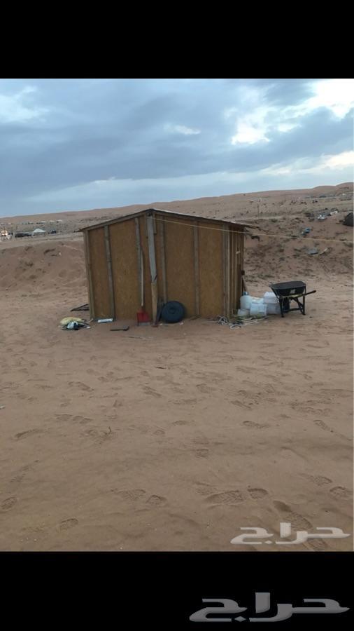 مخيم للبيع كامل قسمين