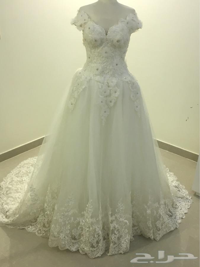 559c7dfe03246 فستان زفاف للبيع