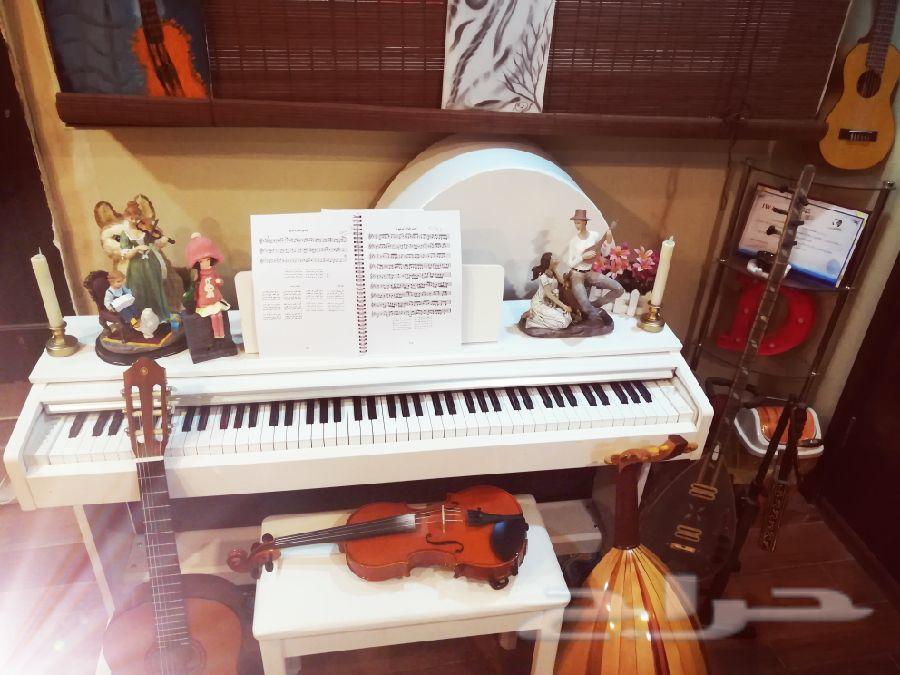 تعليم وتدريب جميع الالات الموسيقية