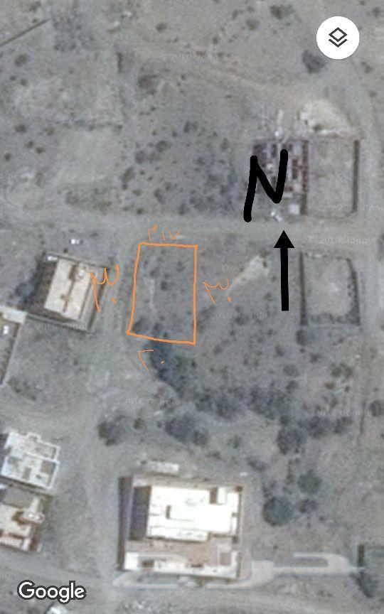 ارض بصك شرعي في مخطط قرية الفرح