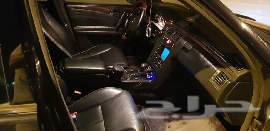 مرسيدس E500 موديل 1999