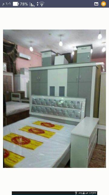 غرف نوم وطني جديد ه ألوان مختلفة جاهز وتفصيل
