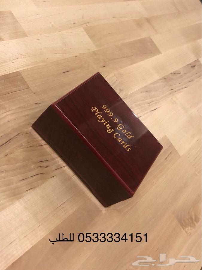 صندوق ورق بلوت مذهب فاخر