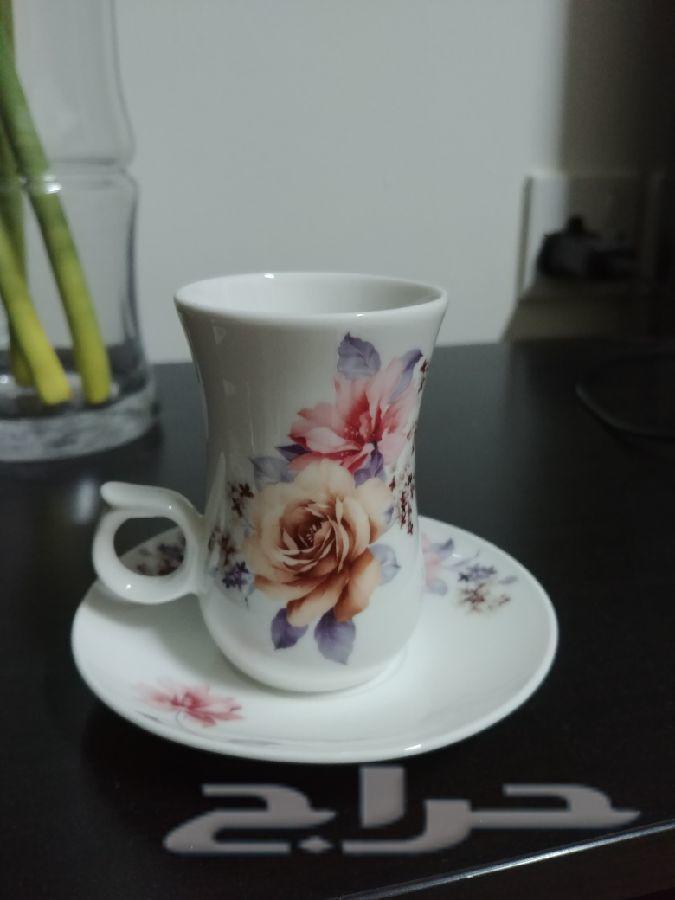 طقم فنجانين قهوة