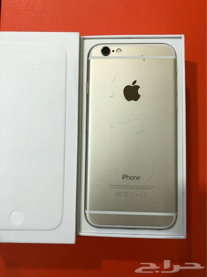 ايفون 6 حجم iphone 6 128GB