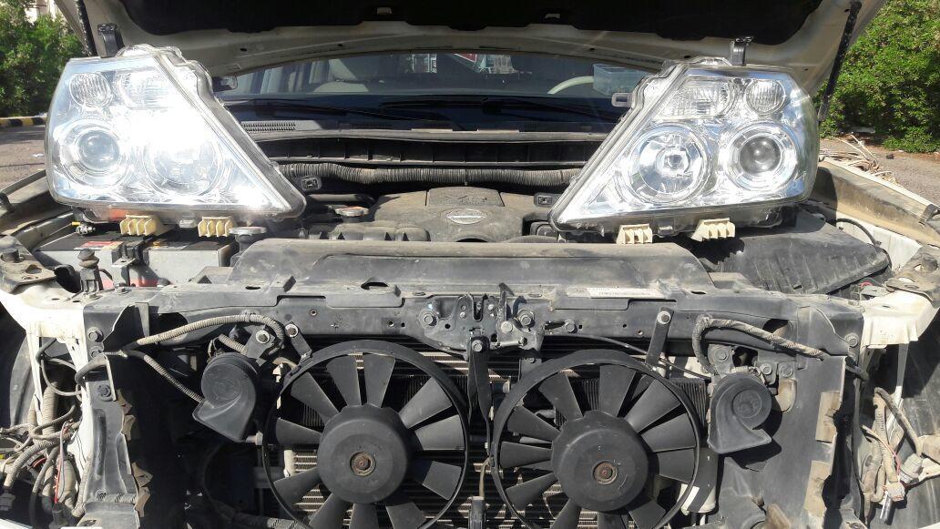متخصص ترهيم عدسات سيارات
