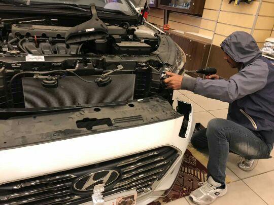 تركيب عدسات سوناتا مديل 2018 nهيلا G5 الألمان