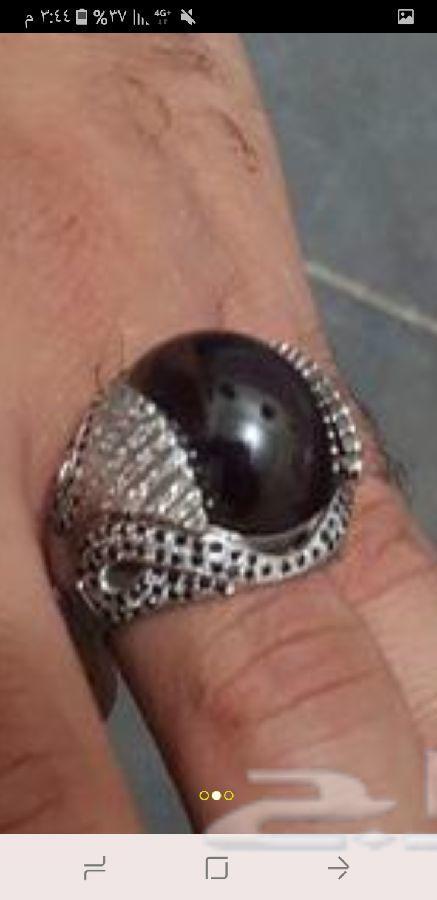 خاتمين الماس رجالي نادر وتفصيل خاص