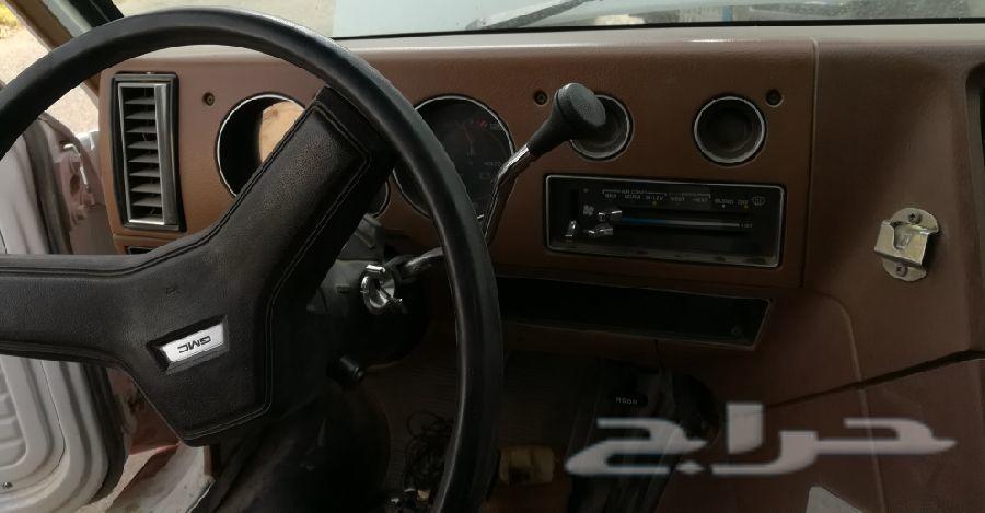 فان جمس موديل 1991يصلح سيارة ايس كريم