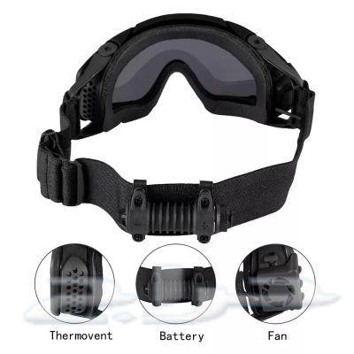 نظارات تكتيكية للحماية الكاملة