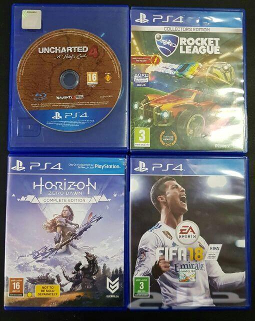 ألعاب بلايستيشن PS4 فيفا  روكيت ليق  نهاية لص