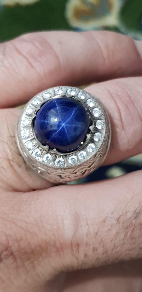 خاتم الماس وزفير نجمي مميز