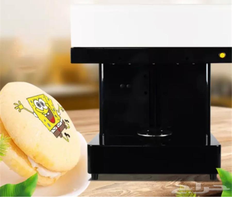 آلة للطابعة على القهوة والاطعمة  NEW
