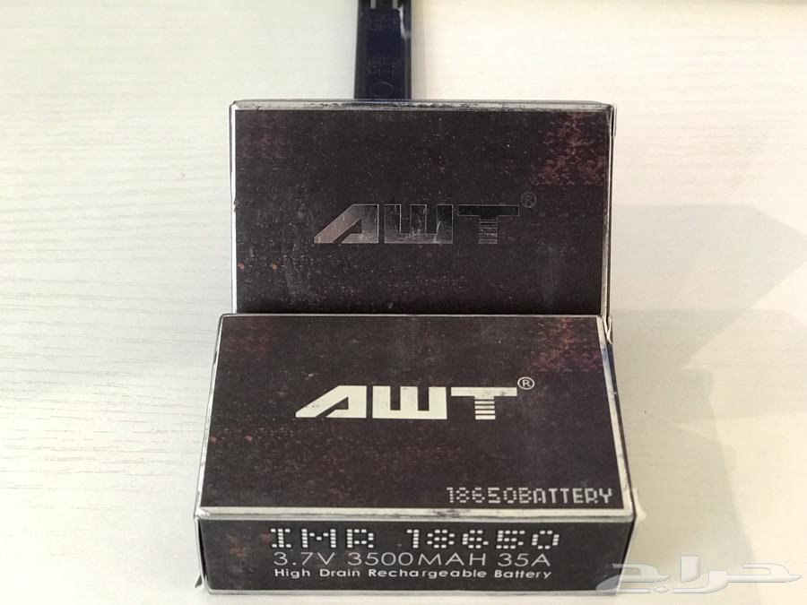 AWTبطاريات اعادة الشحن