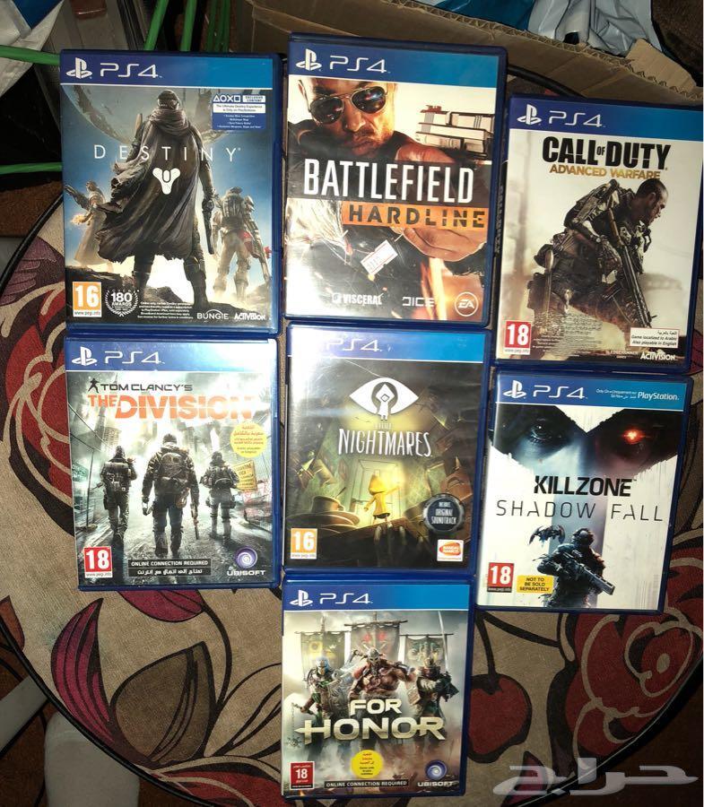 ألعاب PS4 مستعملة للبيع