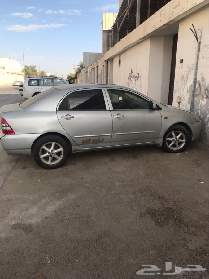 كورولا 2002 للبيع