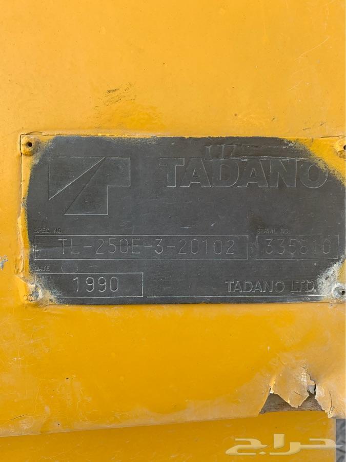 كرين 25 طن تدانو (TADANO)
