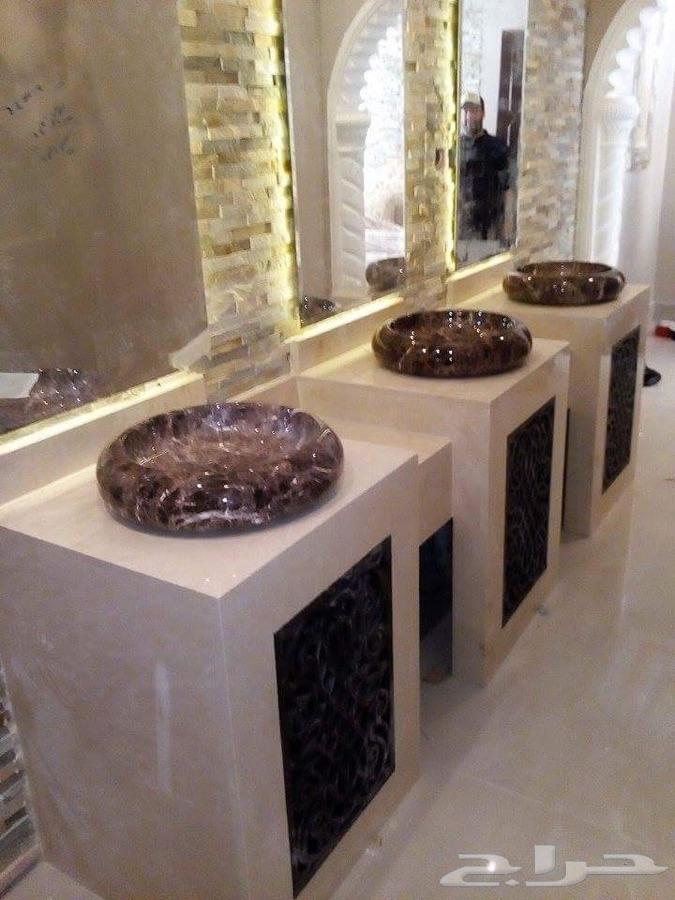 مصنع متخصص في مغاسل الرخام في الرياض
