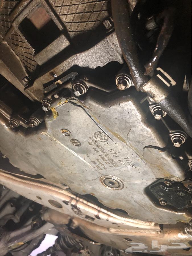 بي ام دبليو 750 للبيع قطع تشليح 2009