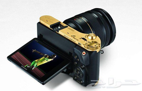 كاميرات Samsung NX300 مطلية بالذهب