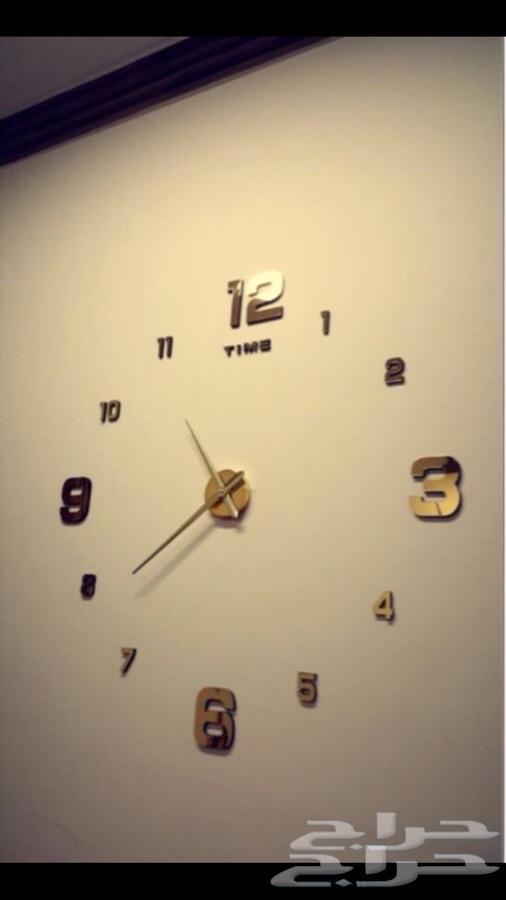 ساعات حائط ثلاثية الابعاد 3D