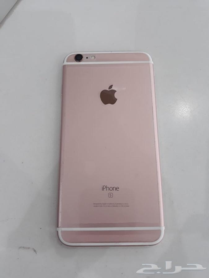 ايفون 6s بلس 64 جيجا اللون روز نظيف