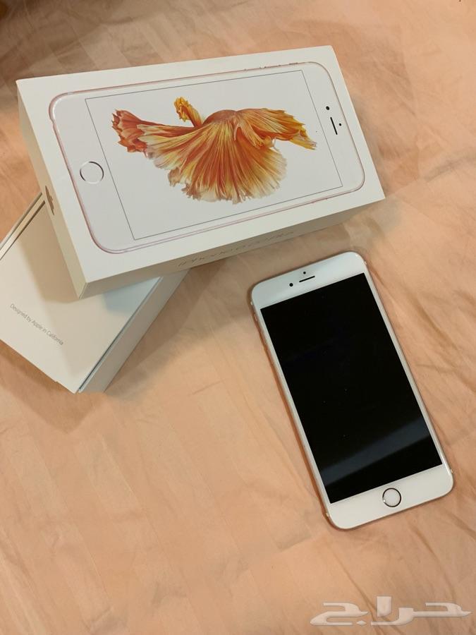 للبيع ايفون 6 اس بلس 64 جيجا نظيف لسوم