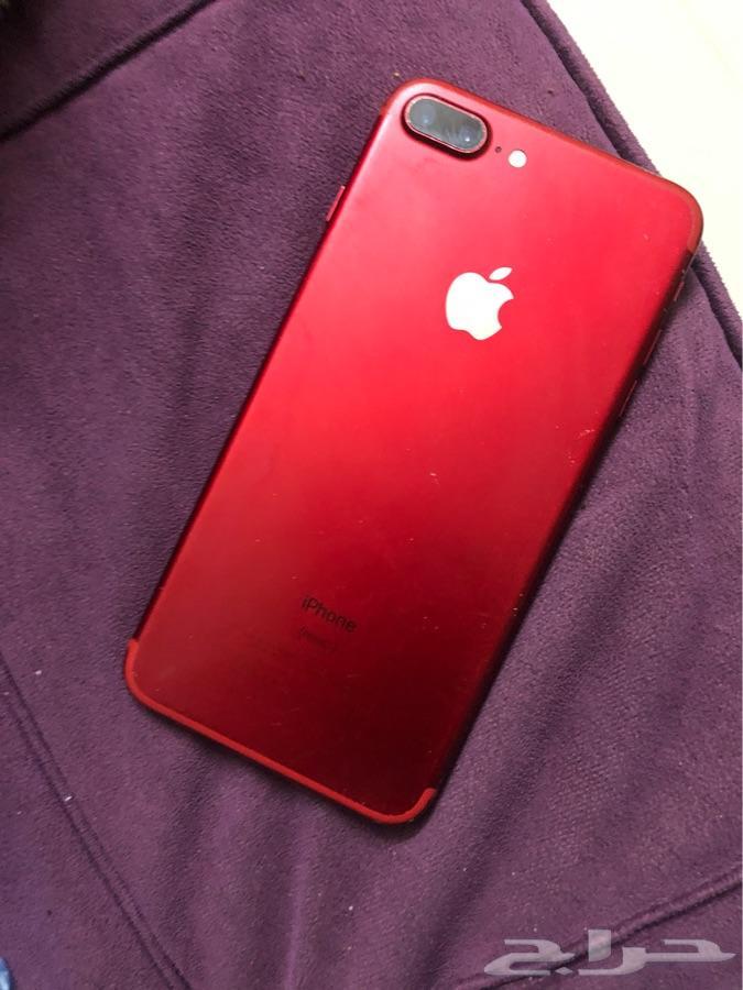 ايفون 7 Plus احمر 128 g