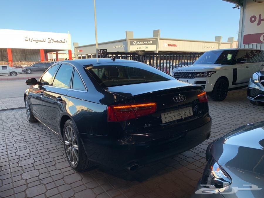 Audi A6 2013 أودي أيه 6