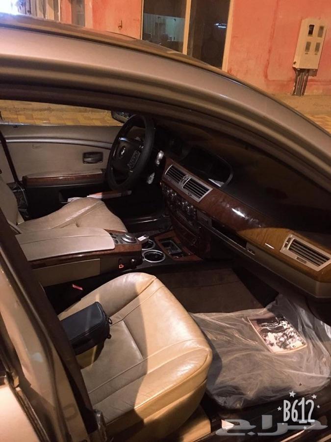سياره BMW موديل 2006 ال اي 730 السياره