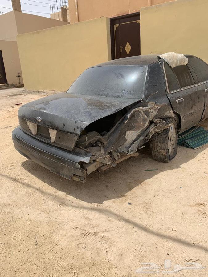 فورد فكتوريا 2006 سعودي مصدوم