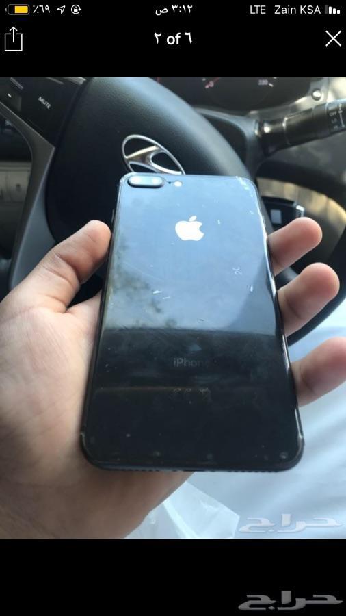 جوال ايفون 8 مكسور وخالي من عيوب اخرى