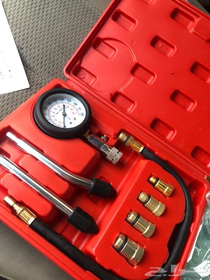 ساعة قياس ضغط المكينة