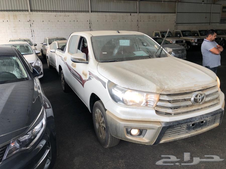 هايلكس 2018 GLX2 فل كامل سعودي اقل سعررر