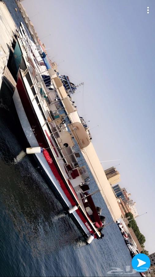 قارب بوت صيد للرحلات البحريه