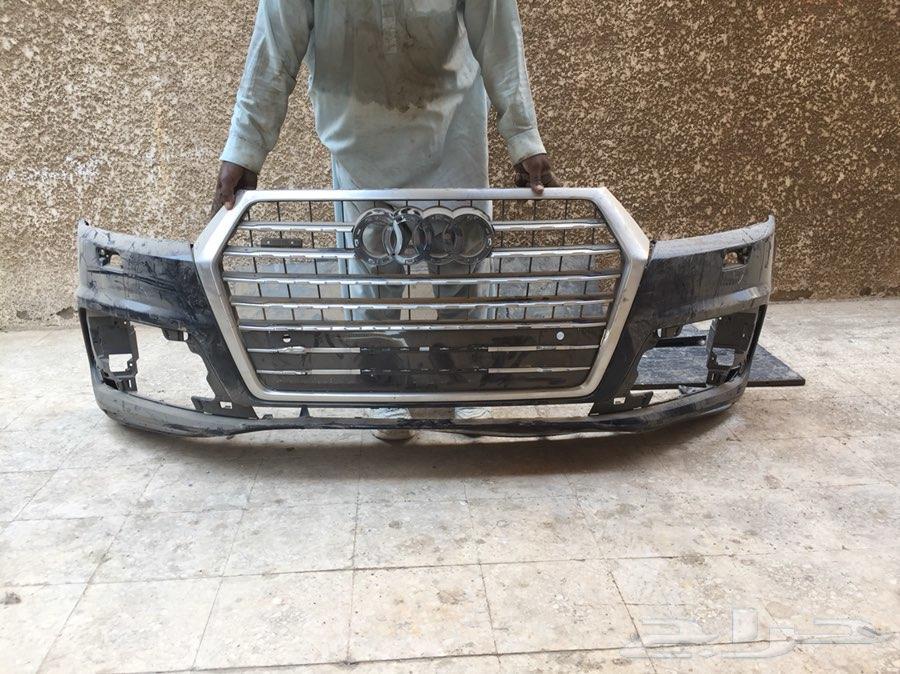 صدام و شبك جيب اودي Q7 2017