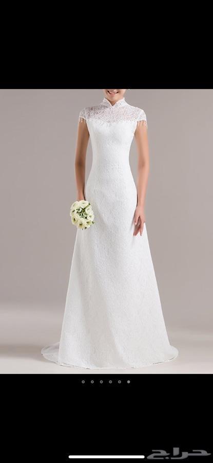 bb28560df093c فستان زفاف للبيع بسعر 700 ريال فقط