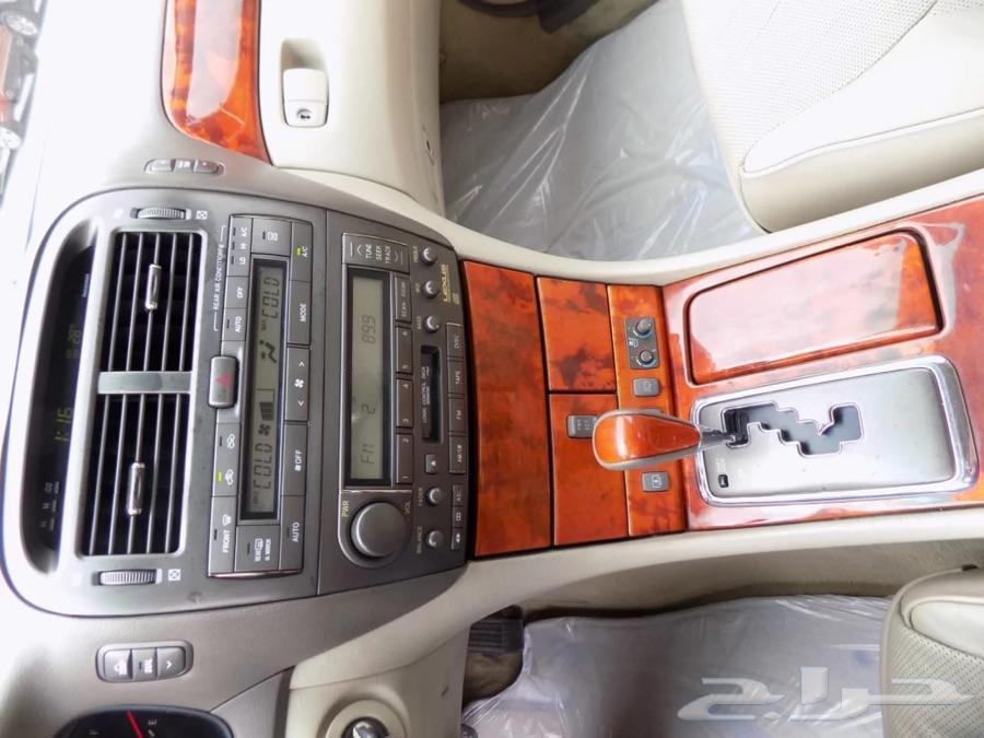 لكزس  LS 430 الموديل 2001 مخزنه