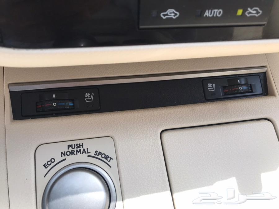 ليكزس ES350 موديل 2014 لؤلؤي بطاقة