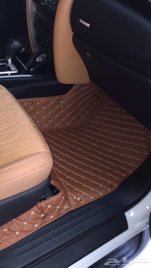 ارضيات جلد فاخرة للسيارات (تفصيل)