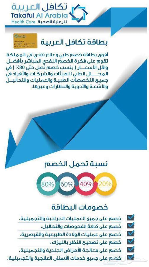 تكافل العربيه خصومات طبيه
