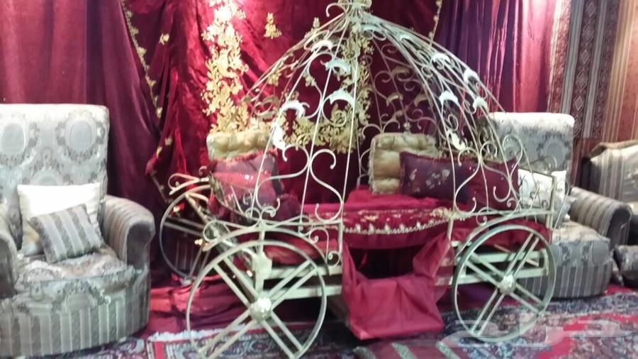 عربة سندريلا أنيقه بسعر مغري معها 40هدية