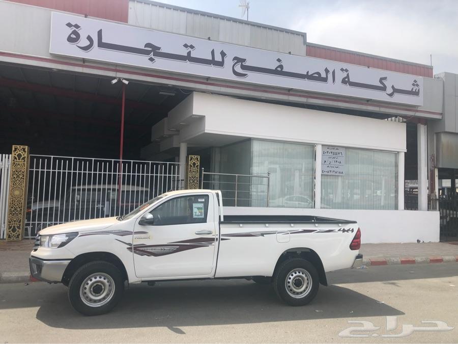 هايلوكس غماره دبل بنزين سعودي 2019