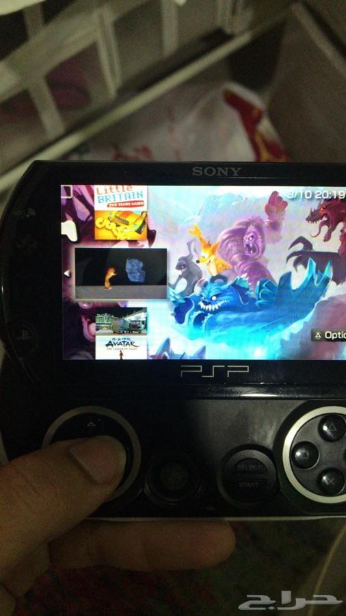 جهاز بي اس بي قو PSP GO مهكر ( نظيف )