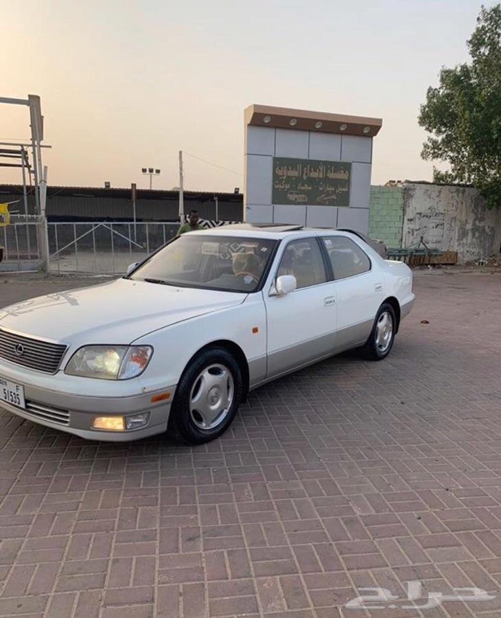 لكزس LS400 مديل 2000 سعودي