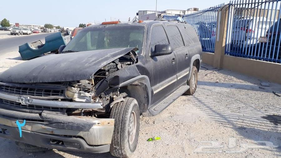 للبيع قطع غيار شفروليه تاهو 2004